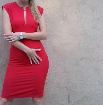 Draag een rood jurkje tijdens de jaarwisseling