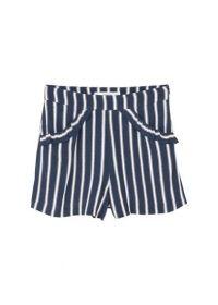 Soepelvallende shorts met print