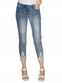 7/8-jeans AMY VERMONT blue bleached dirt