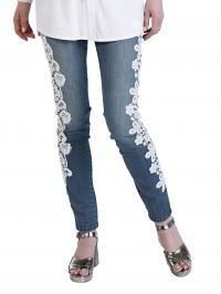 Jeans Alba Moda Red denimblue