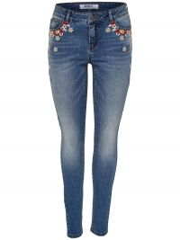 Only Coral Superlow Skinny Jeans