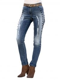 Jeans AMY VERMONT blue bleached