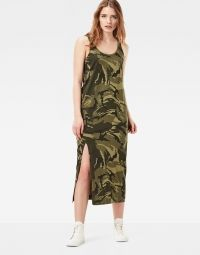 Jurk - Hailey Army Green