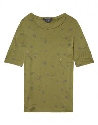 T-shirt - Dionne Army Green