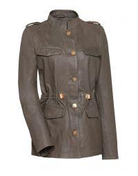 Jas - Cruise Leather Jacket Armee