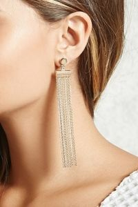 Duster Fringe Earrings