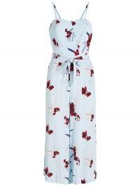 Y.A.S Print Jumpsuit Dames Blauw