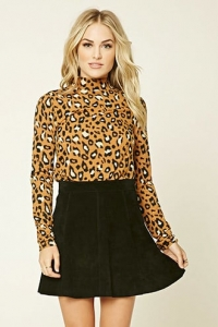 Contemporary Animal Print Top