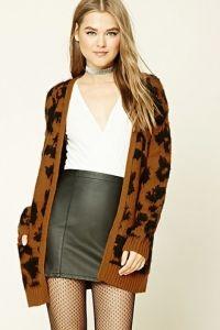 Bellerose Kids leopard print cardigan - Nude & Neutrals