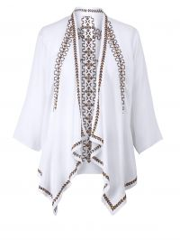 Kimono met borduursel Angel of Style offwhite m. borduursel
