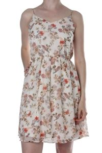 Vero Moda offwhite gebloemde jurk Susanne 10187504