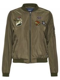 ONLY Bomber Jacket Dames Green