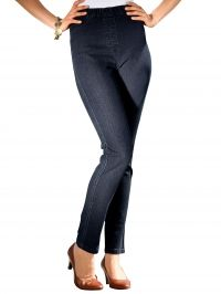 Jegging Laura Kent blue black denim