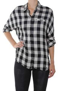 Only offwhite met zwarte blouse Castagna