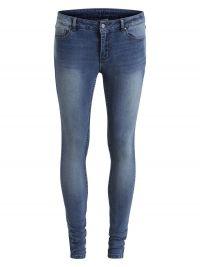 VILA Eenvoudige Skinny Jeans Dames Blue