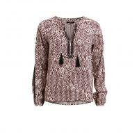 Bedrukte blouse Vietno