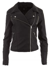 ONLY ONLY Bikerjack onlSheena Faux Leather Biker OTW 15130813