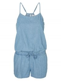 Vero Moda Denim Playsuit