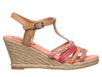 Ibiza style sandalen roze
