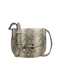 Guess Lexxi Crossbody Saddle Bag python
