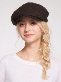 Woolen Blending Narrow Brim Beret Hat