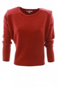 Sandwich Pullover 21001127 Rood