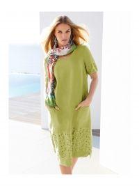 Mouwloze jurk Van Anna Aura groen
