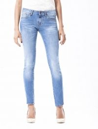 Jane Medium Vintage Blue Skinny Jeans
