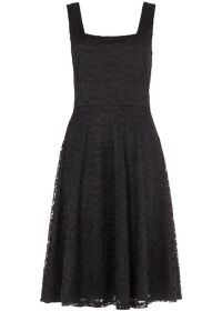 Voodoo Vixen Ashley Lace Dress Black