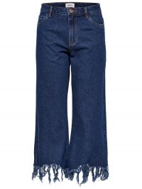 ONLY Sonny High Waist Cropped Flared Jeans Dames Blauw