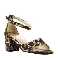 Yasmine Pump Low sandalettes met luipaardprint