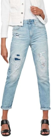 G-star Raw - 3301 high straight 90's ankle wmn