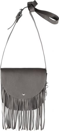 by LouLou Fringed Bag grey