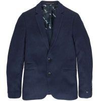 Cast Iron - Knitted jacquard blazer