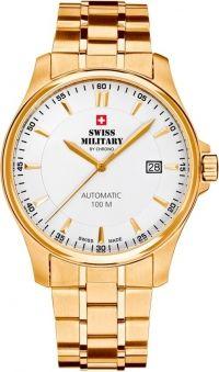 Swiss Military, goudkleurig herenhorloge