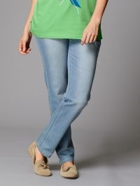 Flare Cut jeans Nora Dollywood blue stone