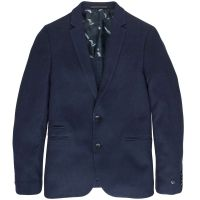 Cast Iron - Knitted jacquard blazer