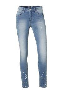 7/8 skinny jeans met parels