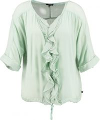 Dept zachtgroene loose fit blouse