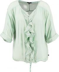 Dept zachtgroene loose fit blouse