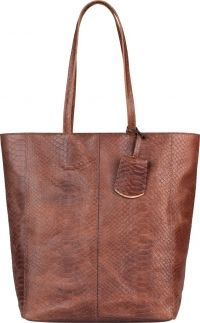 Burkely Dames Shopper Eager Els Brandy