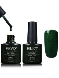 Elite99 Soak Off Blues and Greens Shellac Gel Nail Polish