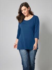 Basic shirt Janet & Joyce blauw