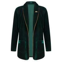 Fabienne Chapot Jasje sophie velvet jacket Groen