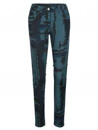 Broek AMY VERMONT blauw/groen