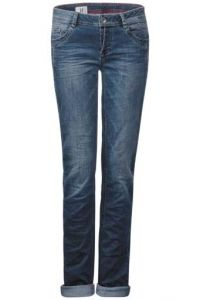 Casual fit-jeans Jane - mid blue stone wash