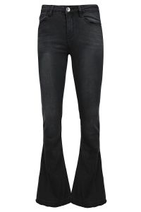 zwarte Things I Like Things I Love Flared Jeans