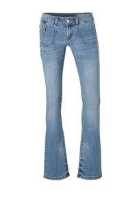 VERO MODA Dina Lw Flared Jeans Dames Blauw