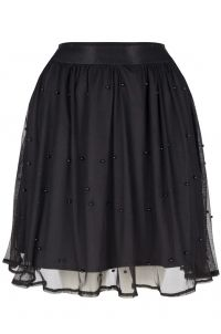 LOFTY MANNER Skirt josee black zwart
