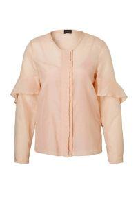 blouse met zijde